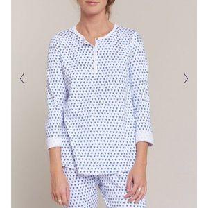 Roller Rabbit Hearts Pajamas (blue)